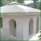 Low-cost, earthquake resistant, and eco-friendly houses designed and built by SARID, Inc.